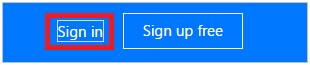 Sign in to Microsoft Flow